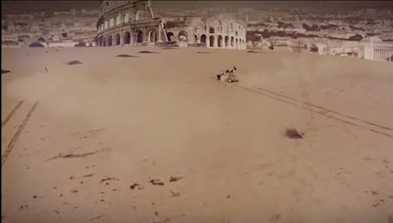 Video minacce Isis, tank su Colosseo