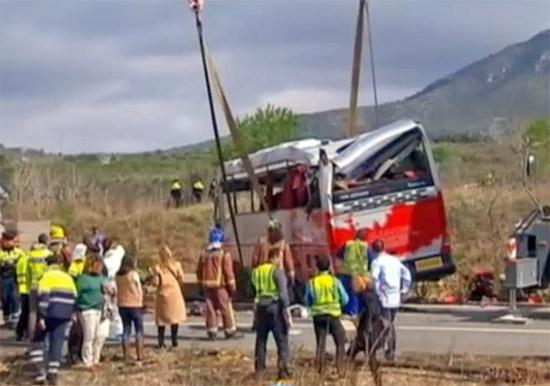Incidente bus Erasmus in Spagna, anche una romana tra le vittime