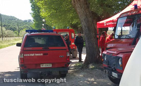Viterbo, morti mamma e bimbo scomparsi venerdì: lei trovata impiccata
