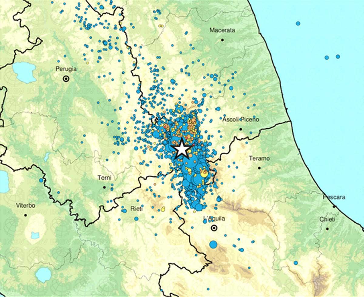 Terremoto, scossa 4.1 epicentro su Norcia | Aftershock più forte dal 3 settembre