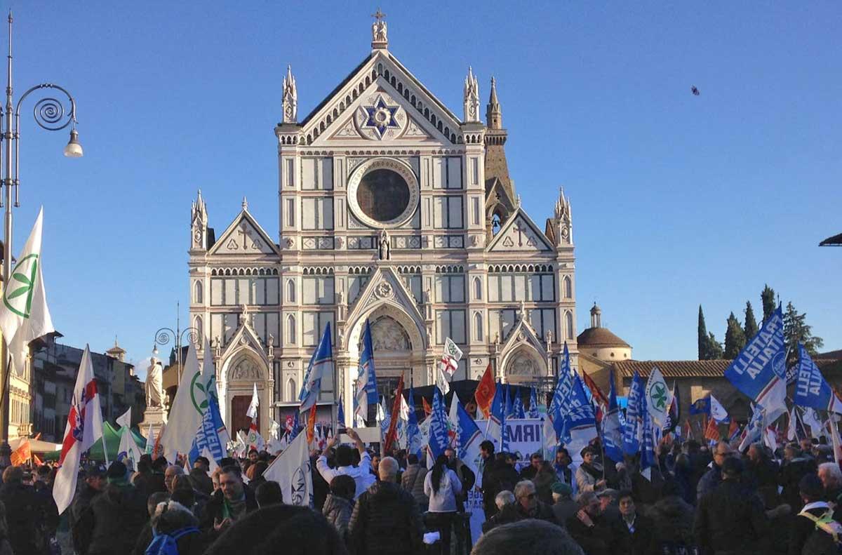 Salvini a Firenze. Lopapa:
