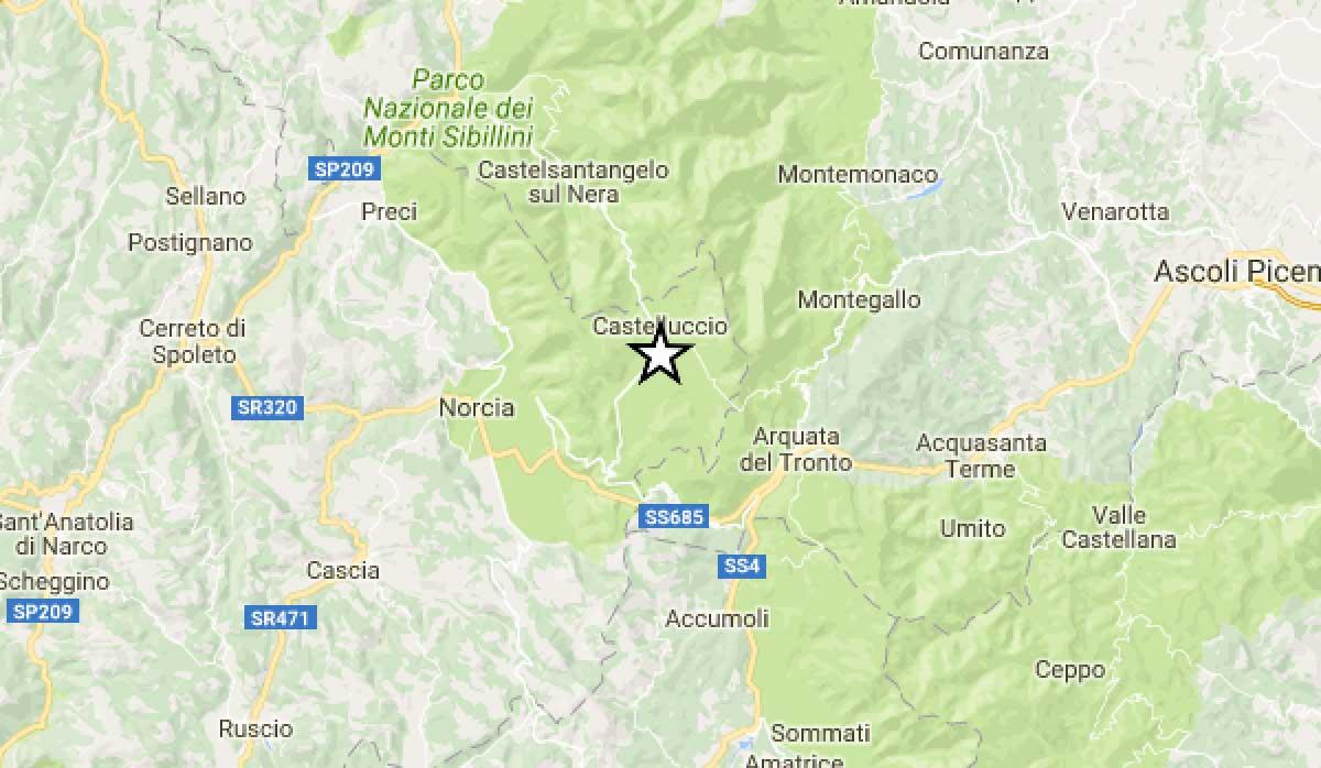 Centro Italia, ancora una notte di scosse di terremoto