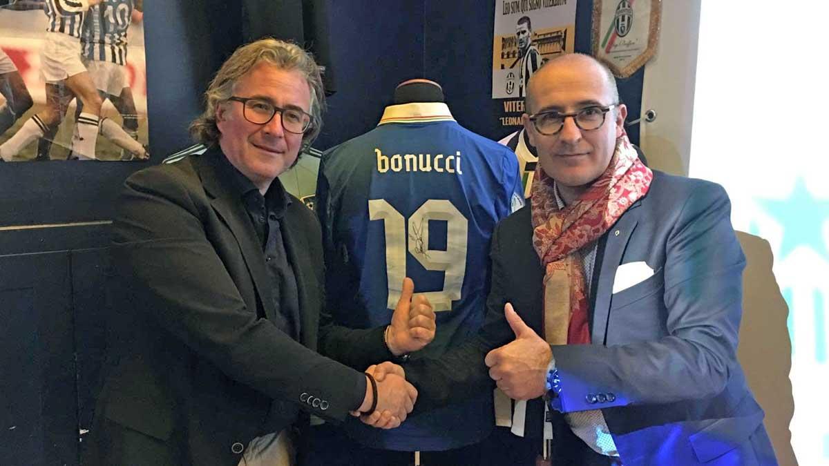 Juventus, ufficiale il rinnovo di Bonucci fino al 2021: