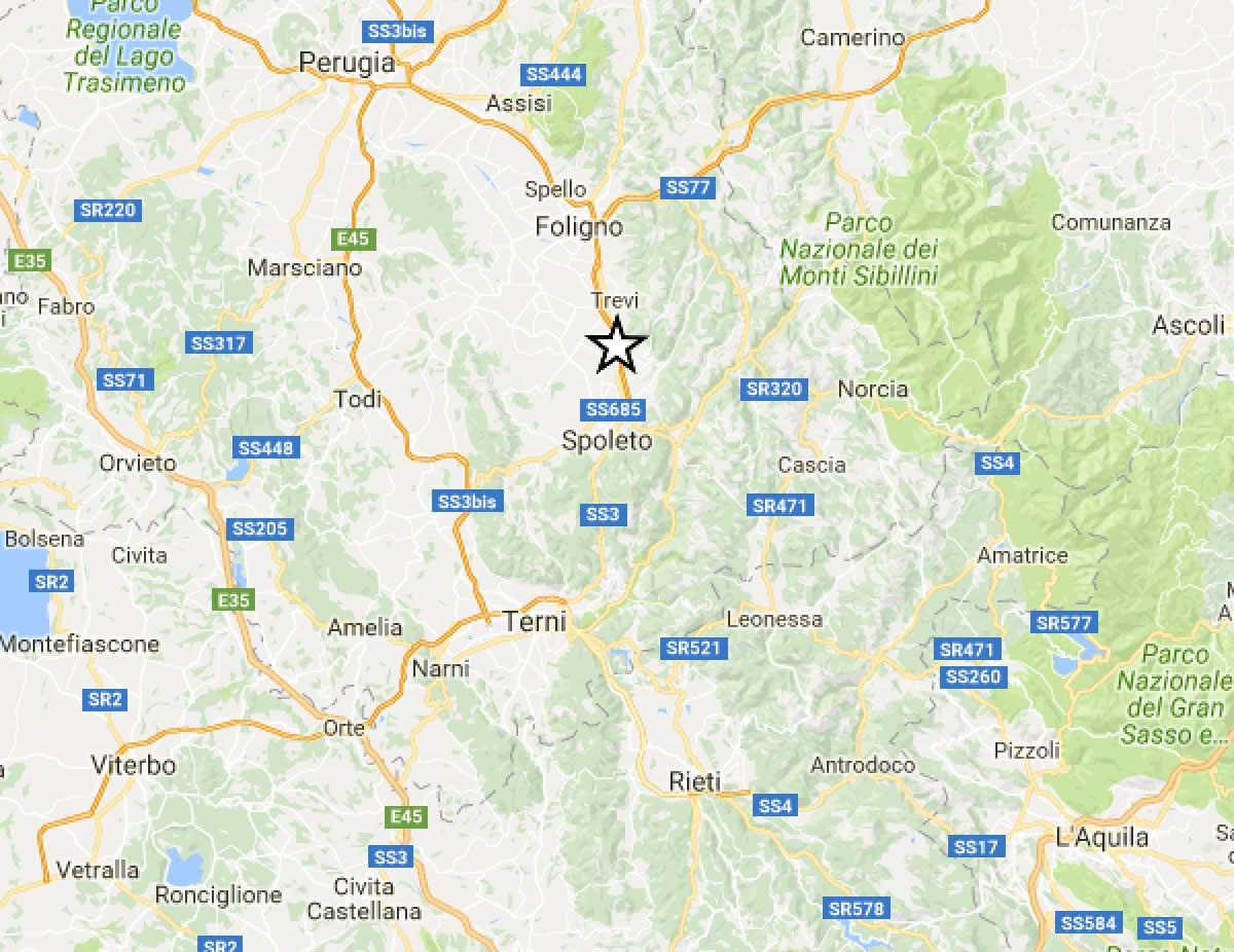 INGV / Terremoto Reggio Calabria oggi, scossa di magnitudo 3.4