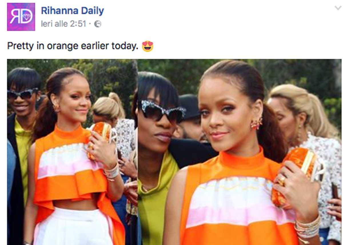 Rihanna beve per dimenticare i Grammy 2017 dalla sua bottiglia