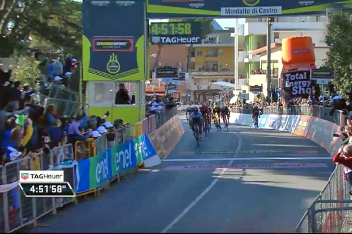 Tirreno-Adriatico: Thomas vince la seconda tappa