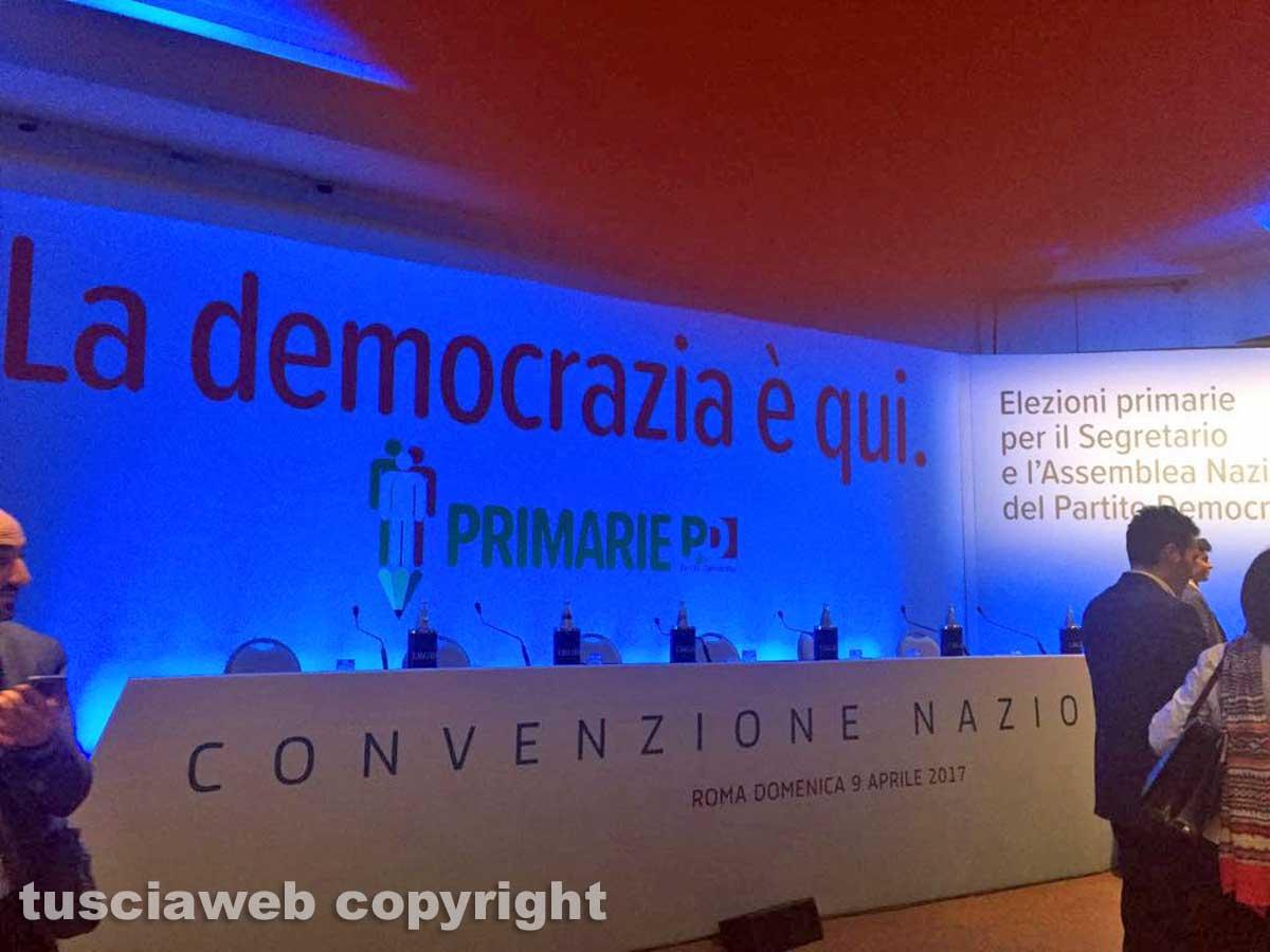 Convenzione nazionale del Pd