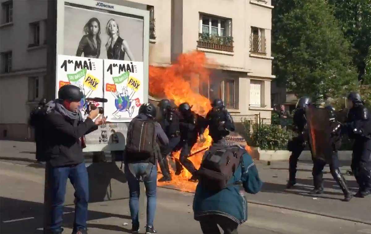 1 maggio, arresti e lacrimogeni contro manifestanti a Istanbul.