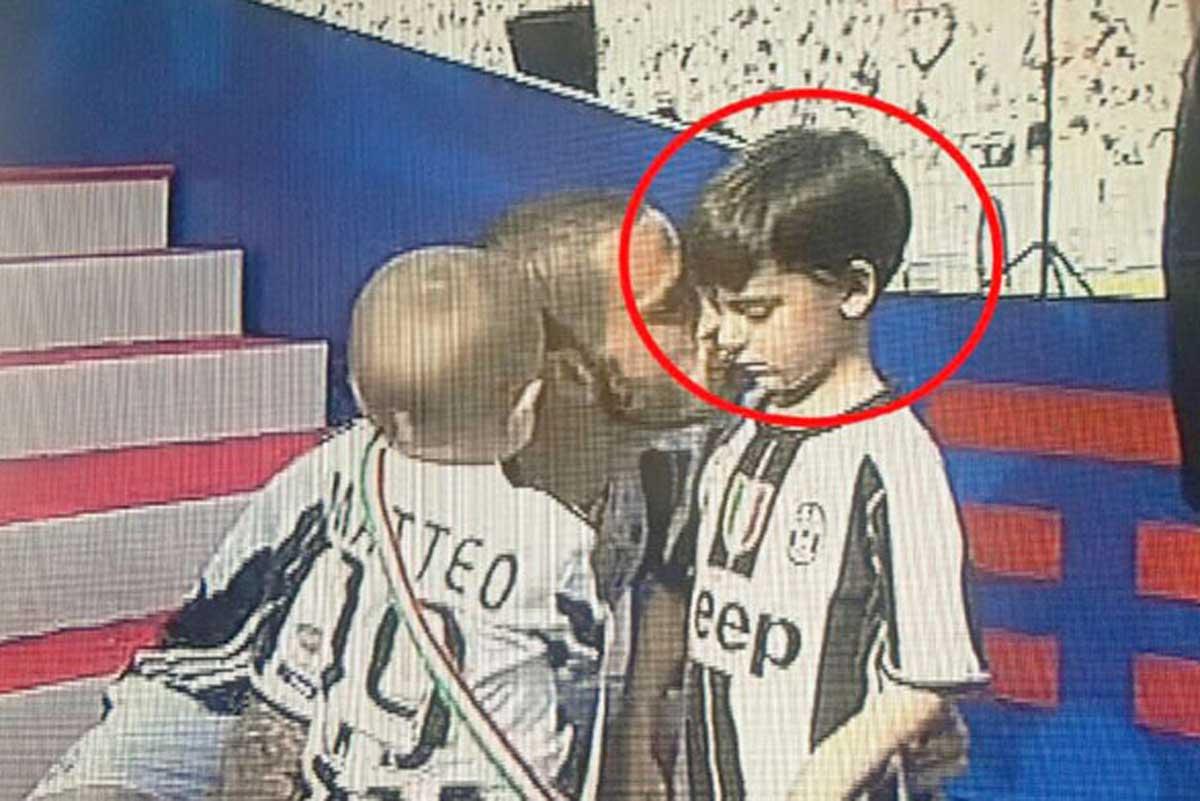 Bonucci, regalo al piccolo Lorenzo: a cena con Belotti
