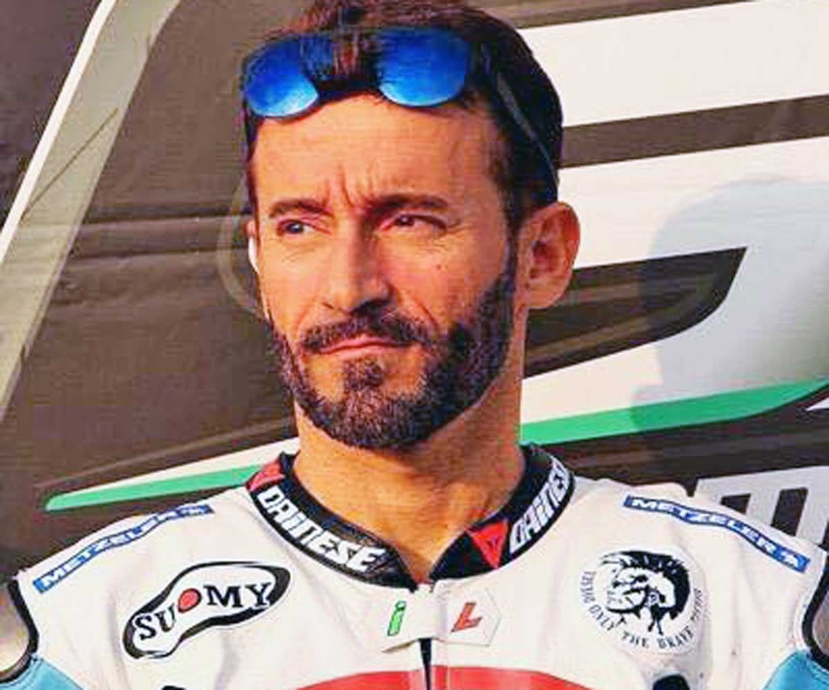 Incidente in pista per Max Biaggi: pilota grave