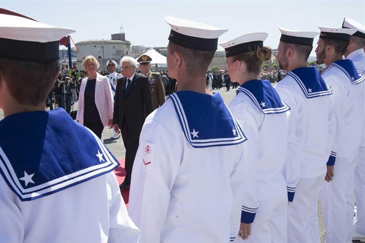 Celebrata la giornata della Marina Militare alla presenza del presidente della Repubblica